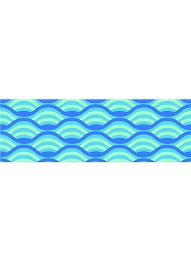 Artikel Dalgalı Çizgiler Runner Masa Örtüsü 43,5x141,5cm Renkli